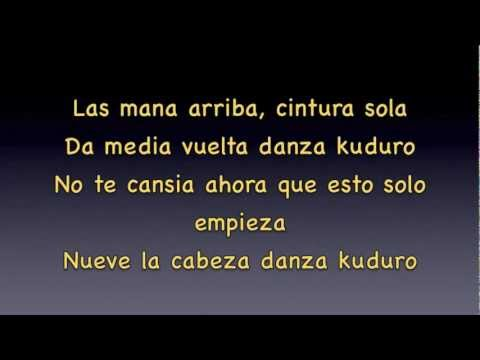 Danza kuduro official remix lyrics