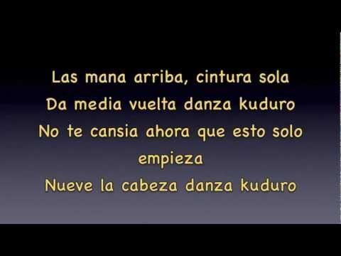 Youtube don omar danza kuduro lyrics