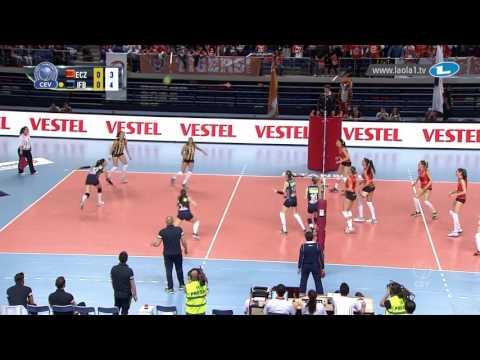 CLVolleyW - Playoff 6 Leg 1 - Eczacibasi VitrA ISTANBUL vs Fenerbahce SK ISTANBUL