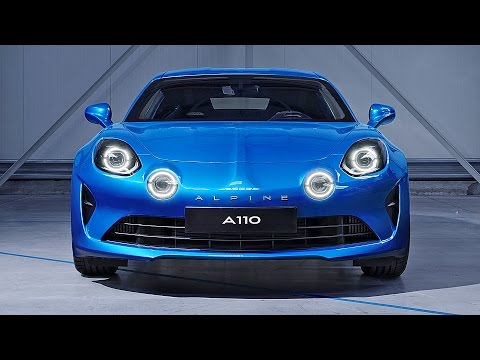 Alpine A110 (2018) Ready To Fight Porsche 718 Cayman?