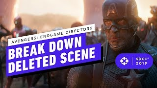 Avengers: Endgame Directors Break Down Thor Asgard Deleted Scene - Comic Con 2019