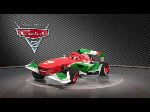 Cars - Cars 2 - Francesco Bernoulli in Showroom