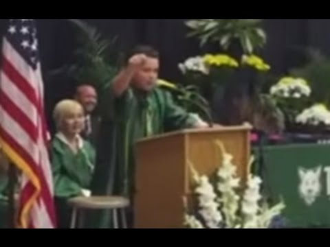 Graduation Speech Impersonating Presidential Candidates Goes Viral