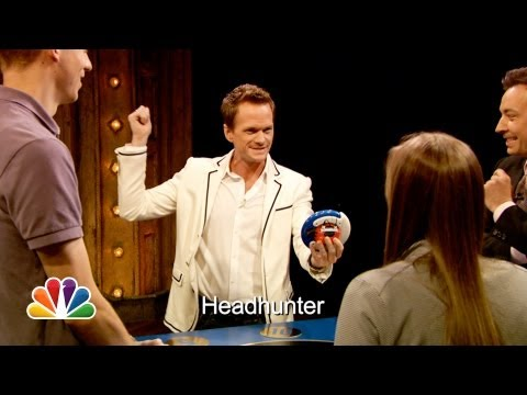 Catchphrase with Neil Patrick Harris and Jimmy Fallon (Late Night with Jimmy Fallon)