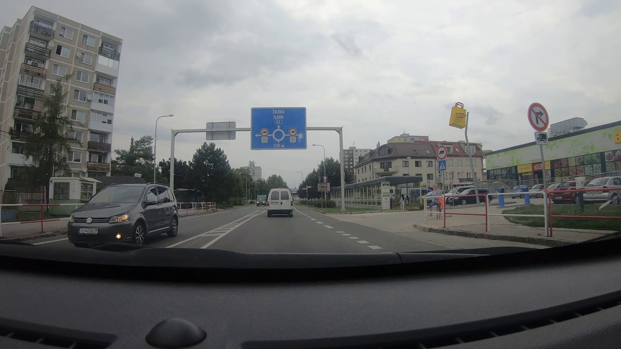 Download Dubnica nad Vahom 4K - Driving through city - Slovakia