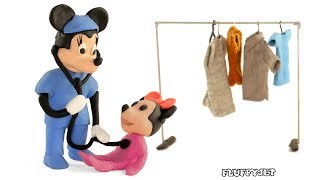 Minnie Mouse Learning Professions with Doctor Pretend Play in this Kids Learning Video!