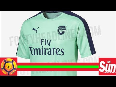 10b50bbf3c4 Arsenal third kit leaked for 2018-19 season… and it is a colour Gunners  have never worn before