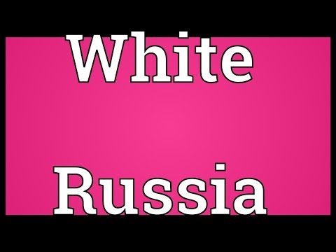 White Russia Meaning