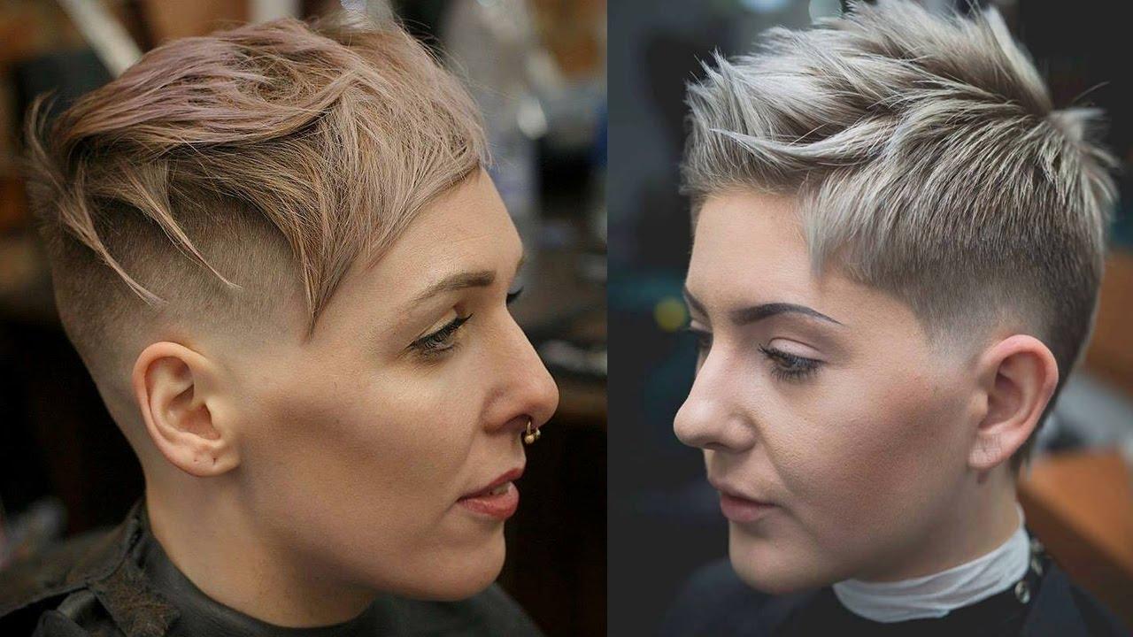 extreme short haircuts - undercut