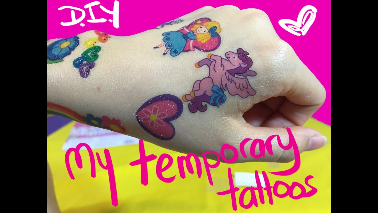 temporary tattoos for kids youtube