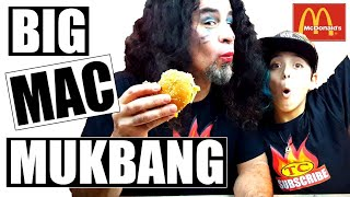 Big Mac Challenge | My First MUKBANG