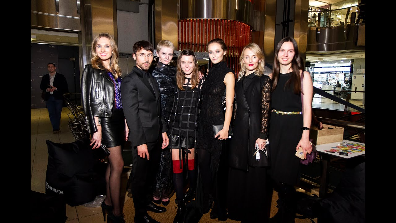 Vogue Fashion 39 S Night Out 2015 In Kiev Youtube