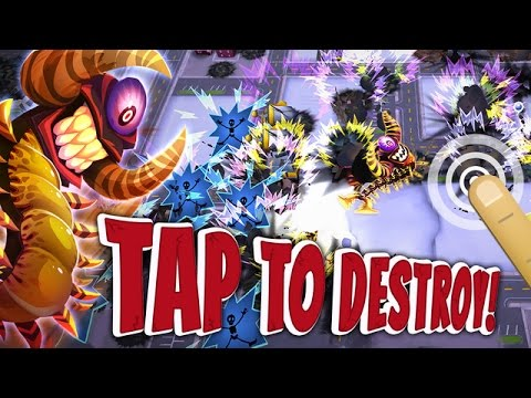 Rise & Destroy Dinosaur Game - Universal HD (Android / iOS) GamePlay Trailer - 동영상
