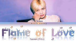 Gambar cover TAEMIN (テミン) - Flame of Love (Color Coded Lyrics Kan/Rom/Eng/歌詞)