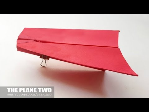 LONGEST DISTANCE PAPER AIRPLANE YET? - How to make a Paper Plane that Flies Far | Two