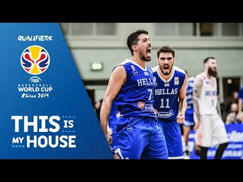 Great Britain v Greece - Highlights - FIBA Basketball World Cup 2019 - European Qualifiers