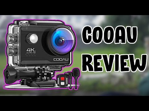 COOAU 4K 20MP Wi-Fi Action Camera Review - Good Or Bad??
