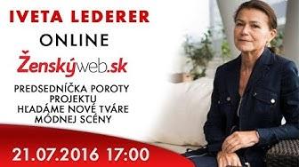 Iveta LEDERER - online