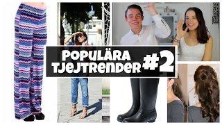 Vad tycker KILLAR om populära tjejtrender? #2 | Med Emil