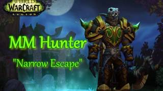 WoW Legion PvP |  MM Hunter 1vNs