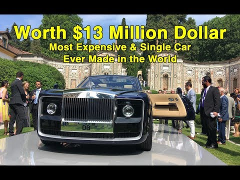 Highest paid car ever made in the world worth $13 Million