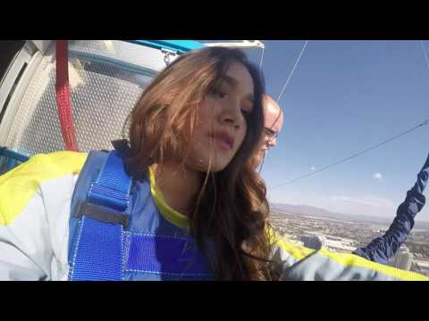 Stratosphere SkyJump in Las Vegas | Madison Sanchez