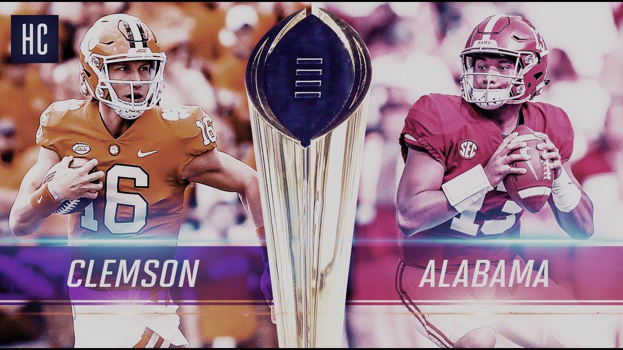 Clemson vs. Alabama National Championship Highlights 2019 ᴴᴰ