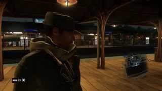 Watch Dogs -  Paulson Train Station Tour & L-train Fast Travel Tutorial Sequence, Hack Phones Ps4