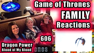 Game of Thrones FAMILY Reactions | Dragon Power | 606 | Blood of My Blood