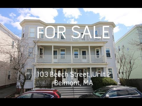 Tour of 103 Beech Street, Unit 2, Belmont, MA - Presented by Dwell360 Real Estate