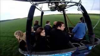 Ballonvaart 27 april 2014 van Zele tot Koewacht