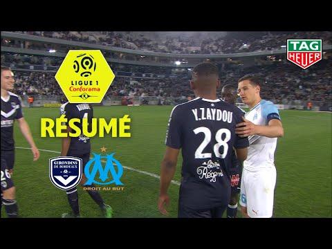 Girondins De Bordeaux - Olympique De Marseille ( 2-0 ) - Résumé - (GdB - OM) / 2018-19