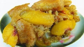 Betty's Amazing Peach Batter Cobbler