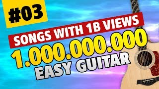 BILLION VIEWS GUITAR 03. Easy Guitar Tabs for Beginners