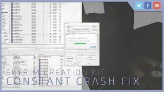 Skyrim Creation Kit | Constant Crash Fix