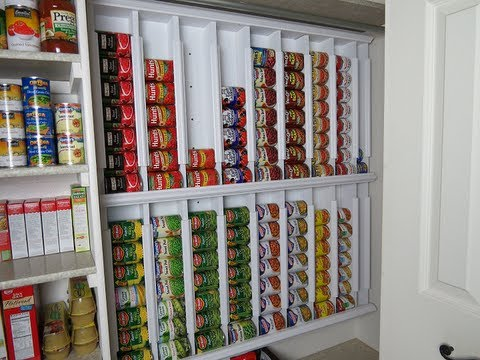 rotating canned food system diy youtube rh youtube com