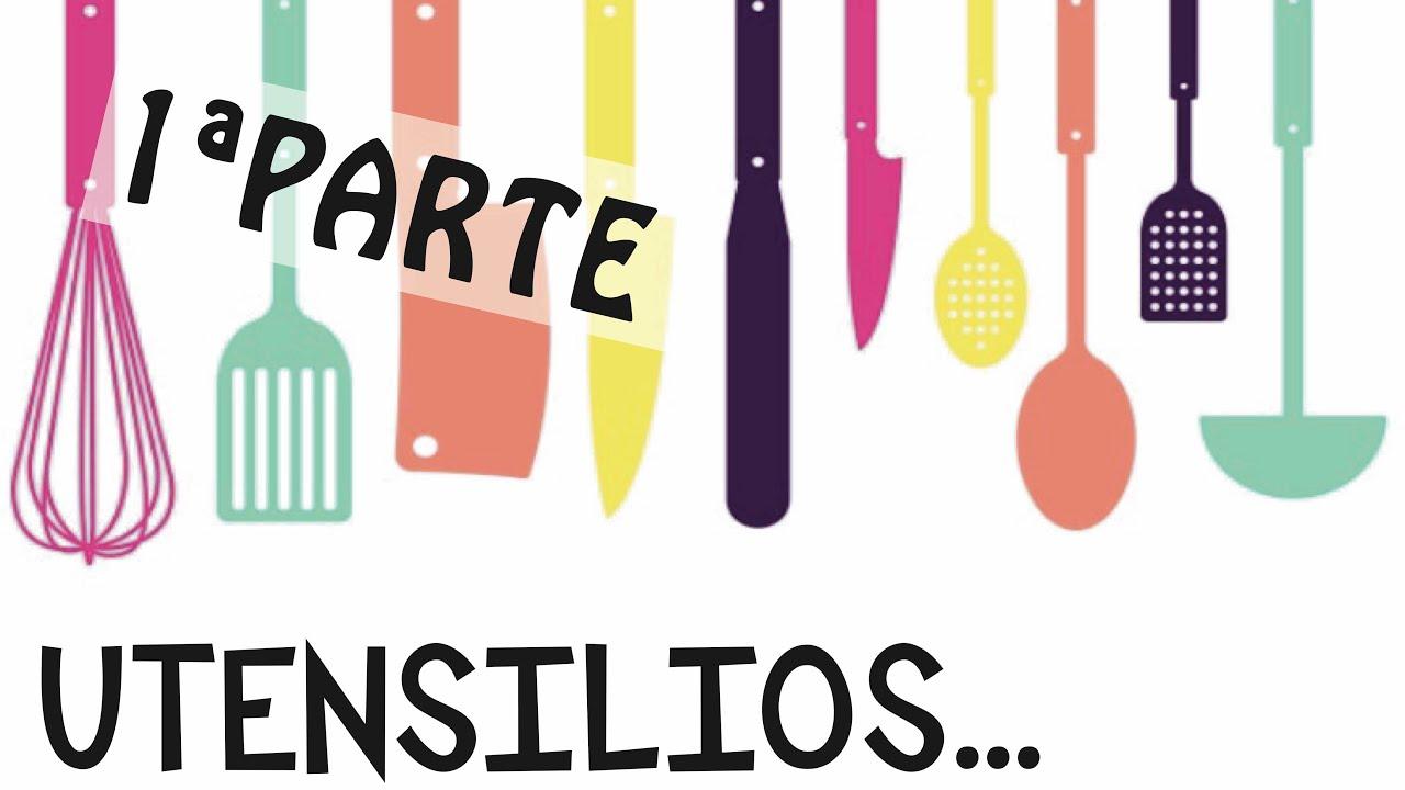 Mis utensilios de cocina parte 1 peque os enseres youtube for Utensilios cocina