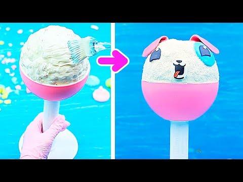 Aus Süßigkeiten Spielzeug Machen! 8 DIY Essbare Spielzeug Süßigkeiten