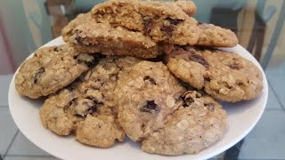 How to make Oatmeal Raisin Cookies from scratch