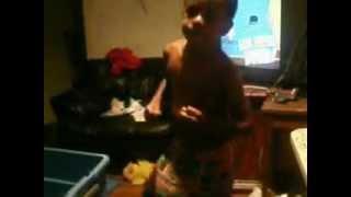 Kid brother-Dancing to Michael Jackson! Thumbnail