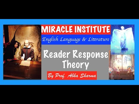Literary Theory : Reader Response Theory : Post Structuralism, for UGC NET JRF English