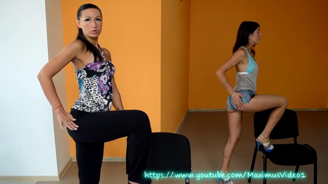 Эротический танец стриптиз на стуле смотреть