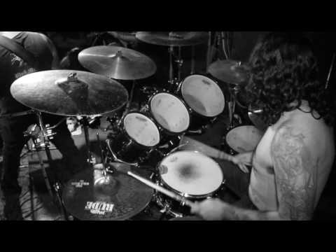 Atomicide - NECROGOAT Drum Cam 2 - live at 5 Star Bar 7/22/2017