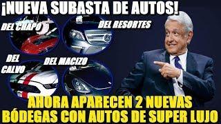 ¡APARECEN NUEVOS AUTOS DE SUPER LUJO EN EL GOBIERNO! AMLO ANUNCIA NUEVA SUBASTA - NOTITOPS MX