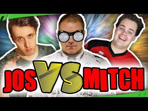 ZWARE RACE! BOTTAS IS WILD! - Jos VS Mitch (F1 2017) - #5