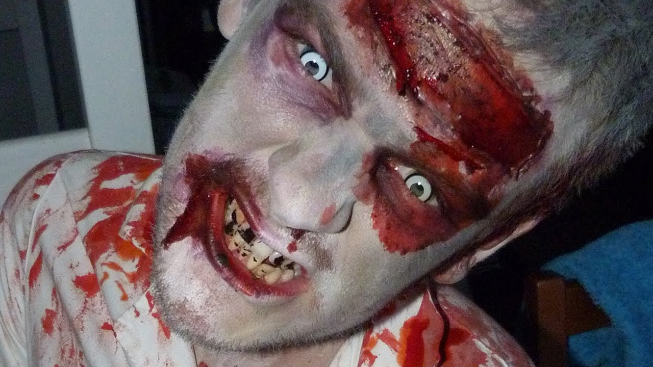maquillage halloween zombie sur jeremstar youtube. Black Bedroom Furniture Sets. Home Design Ideas