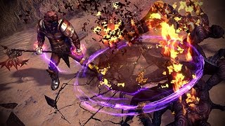 Path of Exile: Purple Herald Skill Effect