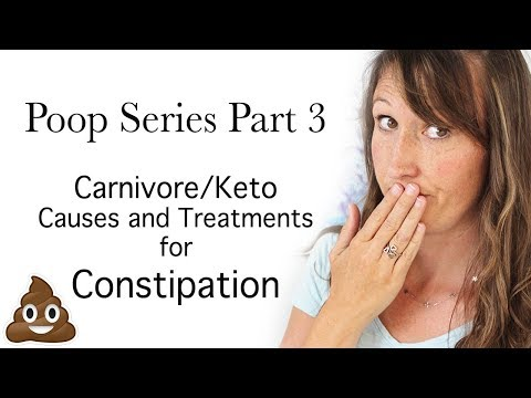 Poop on the Carnivore Diet 3: Constipation Causes and Solutions