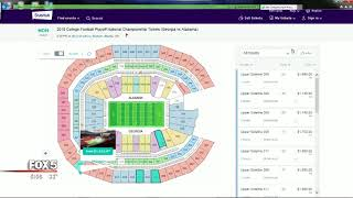 Ticket prices drop for National Championship game