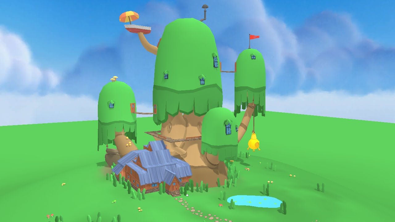 Modeling Adventure Time Tree House Fan Made Youtube